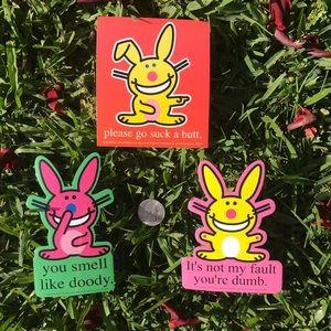 Accessories - HAPPY BUNNY Stickers
